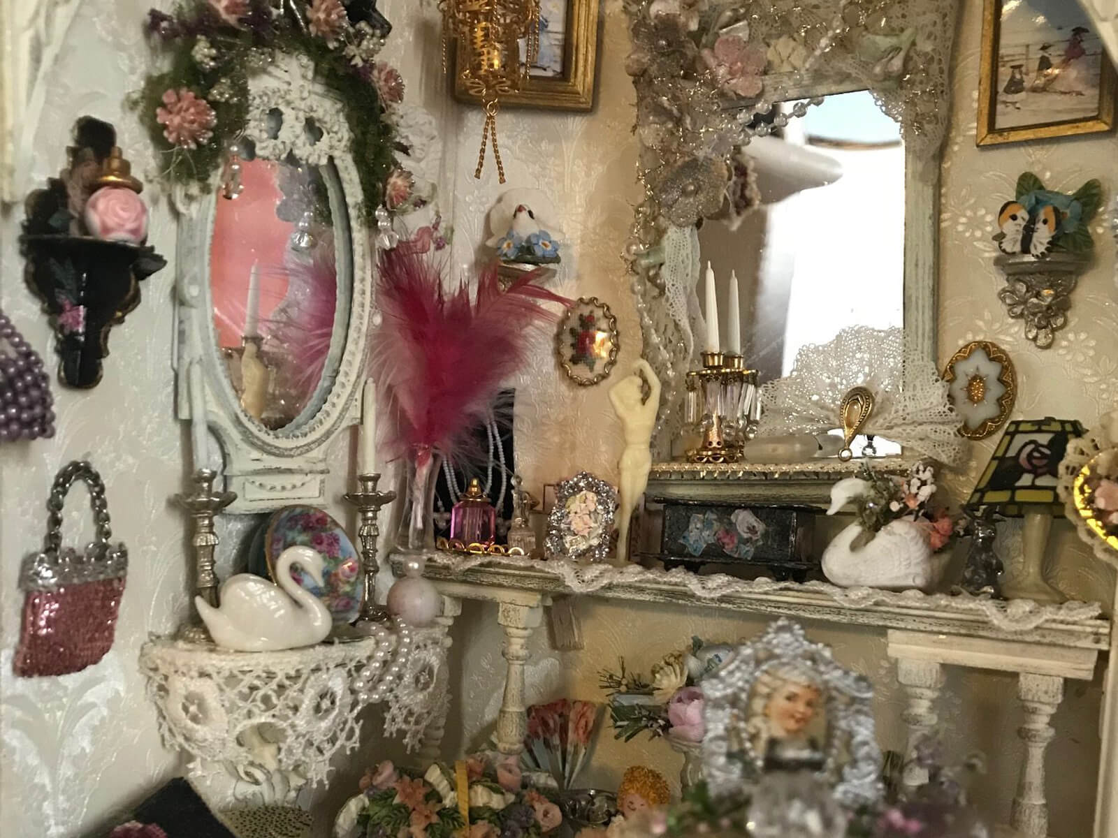 Preparing for the New Season – Dollshouse interior at Layer Marney Tower